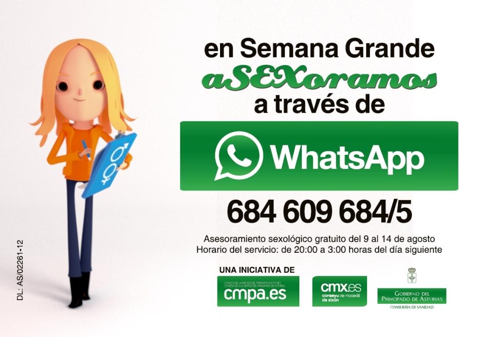 whatssapp asexora_Gijón