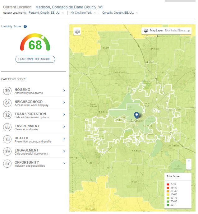 Madison Livability Index https://livabilityindex.aarp.org/search#Madison+Wisconsin+EE+UU