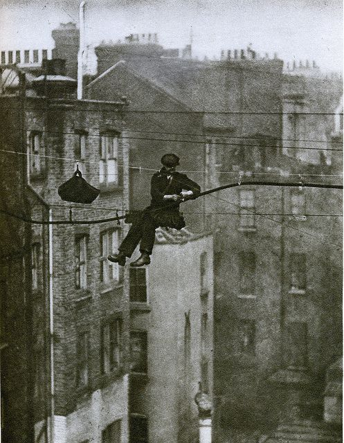London in the 1920's-telephone engineer, Mayfair Photo by Warsaw1948 on Flickr